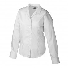Ladies' Business Blouse Long-Sleeved